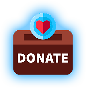 Donate Box with Heart Pic